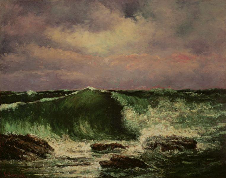 クールベ波1870.jpg